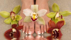 Bine Kosmetik Fußpflege